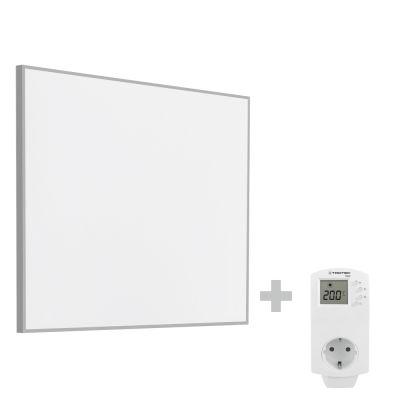 Panel calefactor infrarrojo TIH 300 S + Enchufe-Termostato BN30