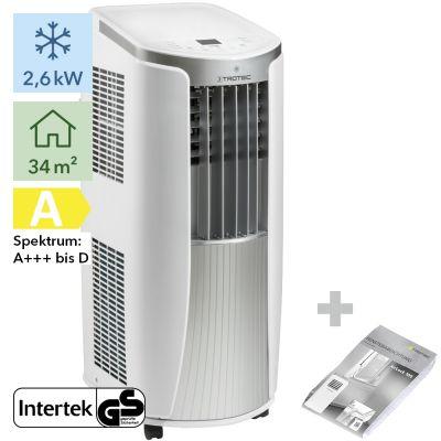Aire acondicionado portátil  PAC 2610 E + AirLock 100