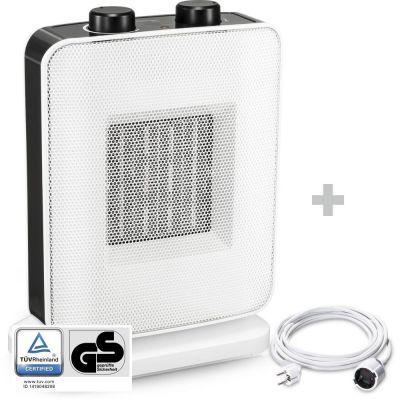 Soplador calefactor de cerámica TFC 15 E + Cable alargador de PVC 5 m / 230 V / 1,5 mm²