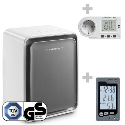 Deshumidificador TTK 24 E WS + Termohigrómetro BZ05 + Medidor de consumo energético BX11
