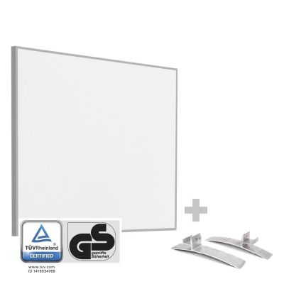 Panel calefactor infrarrojo TIH 300 S + Pies de soporte incluidos