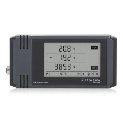 Registrador de datos industrial de uso universal DL200X color gris antracita