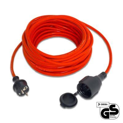 Cable alargado de calidad 15 m / 230 V / 1,5 mm²