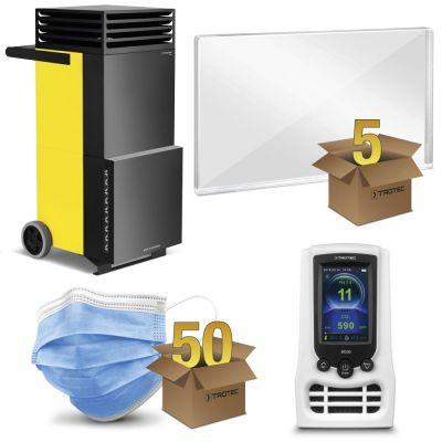 Paquete de protección oficina abierta con TAC V+ en amarillo