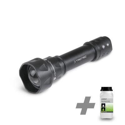 Linterna UV Torchlight/ luz de la antorcha  15F + Luminat