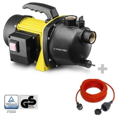 Bomba de Jardin TGP 1000 E + Cable Alargado de Calidad  15m  230 V  1,5 mm²