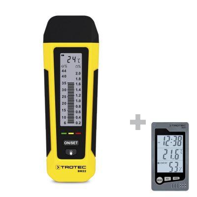 Medidor de humedad BM22 + Termohigrómetro BZ05