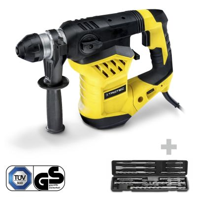 Martillo Perforador y cincelador PRDS 11‑230V + Juego de Broca para Martillo Perforador y Cincel