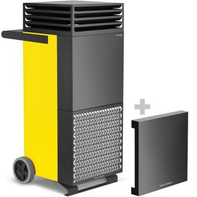 Limpiador de aire de la habitación TAC M + campana de aislamiento acústico