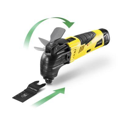 Herramienta multifunción de batería PMTS 10-12V + Batería de repuesto compatible
