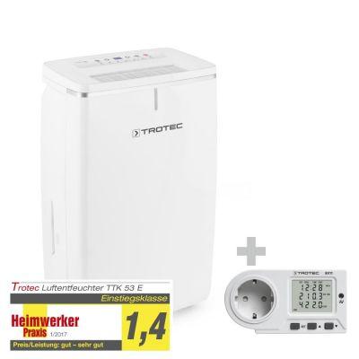 Deshumidificador TTK 53 E + Medidor de consumo energético BX11