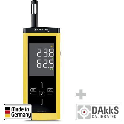 Termohigrómetro T210 - Calibración DAkkS D.2102