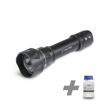 Linterna UV Torchlight/ luz de la antorcha  15F + Uranina