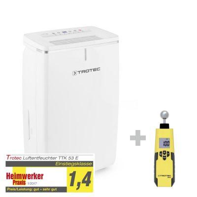 Deshumidificador TTK 53 E + Medidor de humedad BM31