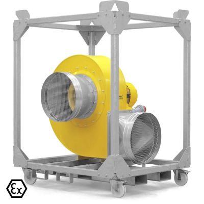 Ventilador radial TFV 600 Ex