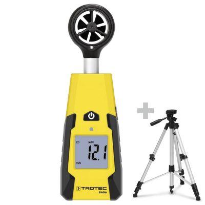 Anemómetro de rueda alada BA06 + Trípode universal