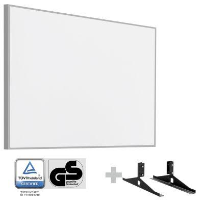 Panel calefactor infrarrojo TIH 900 S + Pies de soporte incluidos