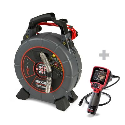 Sonda de inspección SeeSnake microReel + Cámara digital de inspección micro CA-350