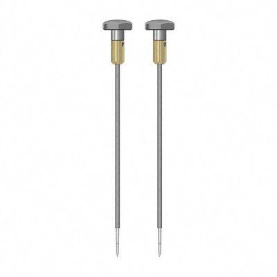 TS 012/200 par de electrodos redondos de 4 mm, aislado