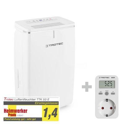 Deshumidificador TTK 53 E + Medidor de consumo energético BX09
