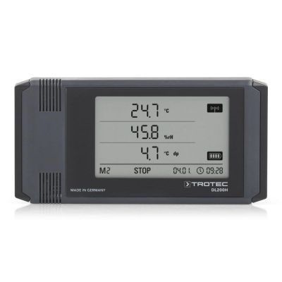 Registrador de datos DL200H color gris antracita