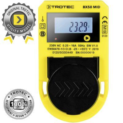 Medidor de consumo energético BX50 MID