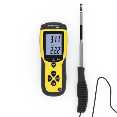 Anemómetro TA300 sonda recta incl. certificado de calibración