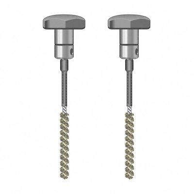 TS 020/110 par de electrodos de escobilla, aislado