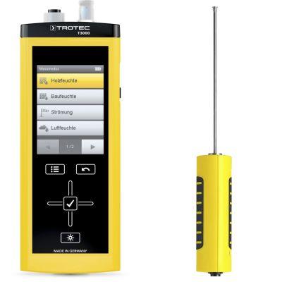 Medidor multifuncional T3000 + TS 131/150 SDI sensor de temperatura