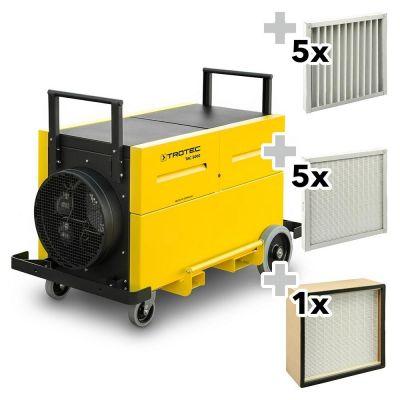Purificador de aire TAC 5000  + Conjunto de protección contra el polvo
