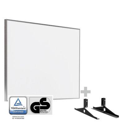 Panel calefactor infrarrojo TIH 500 S + Pies de soporte incluidos