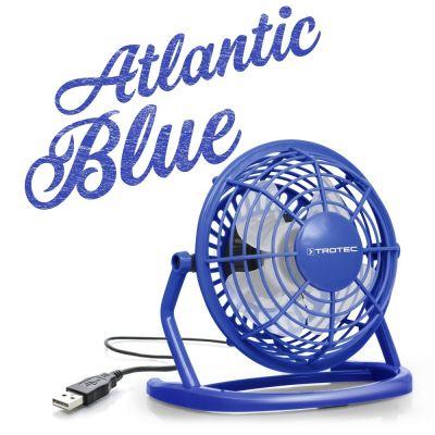 Ventilador color azul Atlantic Blue USB TVE 1B