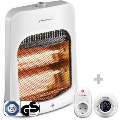 Calefactor por radiación infrarroja IRS 800 E + Cronotermostato inalámbrico BN35