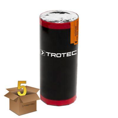 Cartucho de humo color rojo, duración: 80 s (5 unidades)