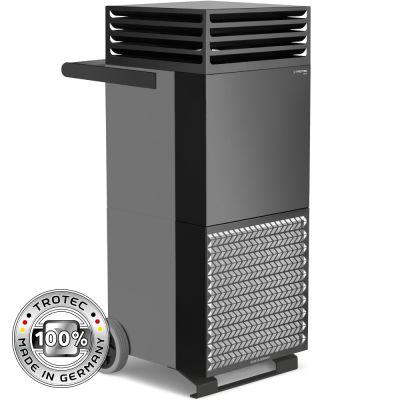 Limpiador de aire de la habitación TAC M en gris basalto/negro