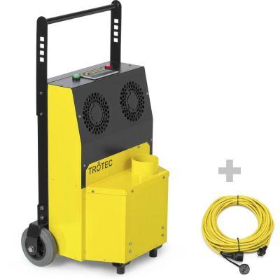 Generador de ozono Airozon Supercracker + cable de extensión profesional 20 m / 230 V / 2,5 mm²