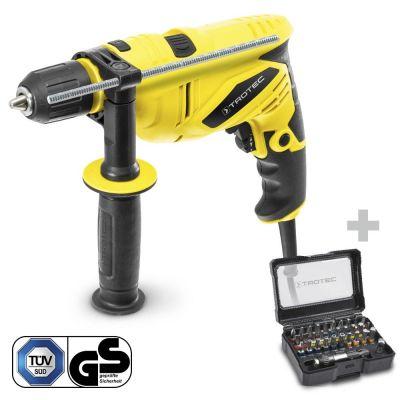 Taladro percutor PHDS 10-230V + Juego de 32 puntas