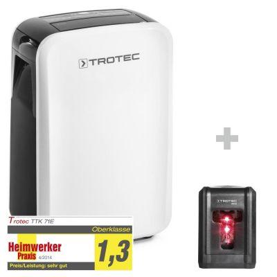 Deshumidificador TTK 71 E + Nivel láser de líneas cruzadas BD5A