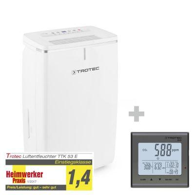 Deshumidificador TTK 53 E + Termohigrómetro (CO2) BZ25
