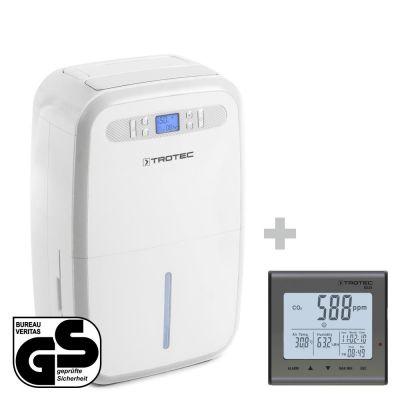 Deshumidificador  TTK 95 E + Detector de calidad del aire (CO2) BZ25