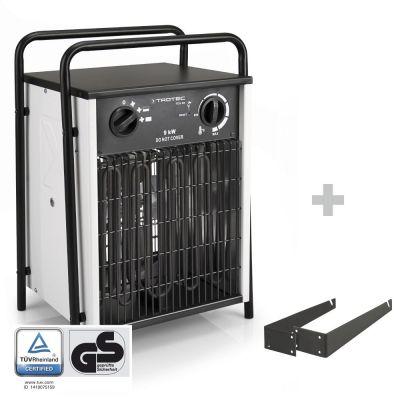 Calefactor eléctrico TDS 50 + soporte para montaje en pared