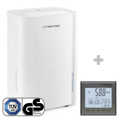 Deshumidificador TTK 66 E + Detector de calidad del aire (CO2) BZ25