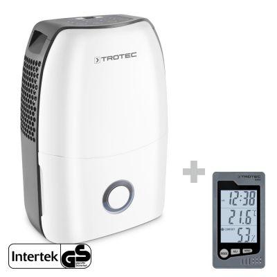 Deshumidificador TTK 60 E + Termohigrómetro para interiores BZ05