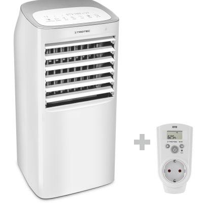 Enfriador de aire, humidificador de aire PAE 40 + Enchufe con higrostato BH30