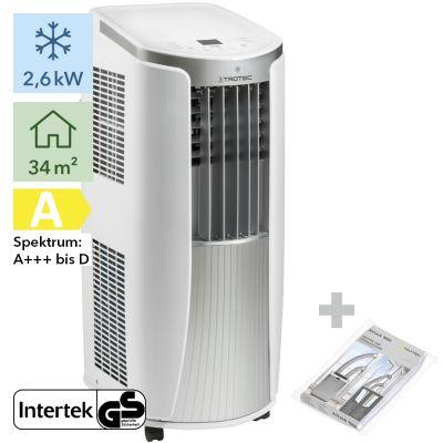 Aire acondicionado portátil PAC 2610 E + AirLock 1000