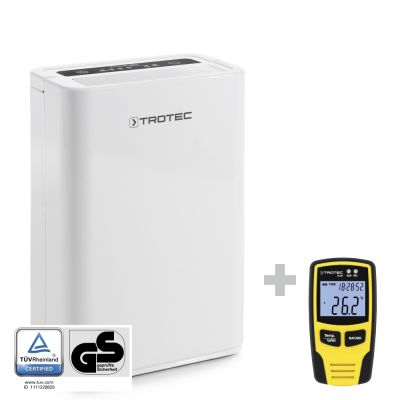 Deshumidificador TTK 52 E + Datalogger BL30  para el control  climático