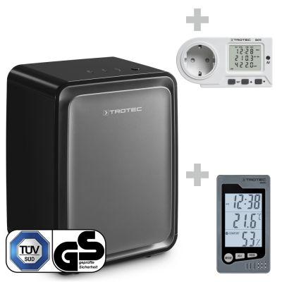 Deshumidificador TTK 24 E DS + Termohigrómetro BZ05 + Medidor de consumo energético BX11