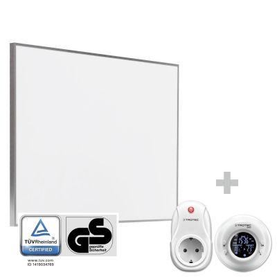 Panel calefactor infrarrojo TIH 500 S + Cronotermostato inalámbrico BN35