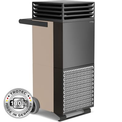Limpiador de aire de la habitación TAC M en bronce/negro