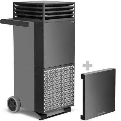 Purificador de aire TAC ECO + campana de aislamiento acústico